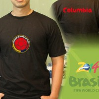 T-Shirt World Cup - Kolombia