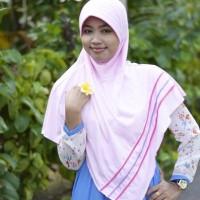 Jilbab / hijab Rabani Lapis Jumbo XXL