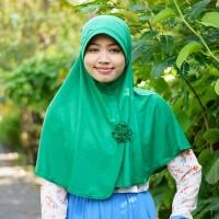 Jilbab / hijab BCL ( Bunga Ceplok Mawar )