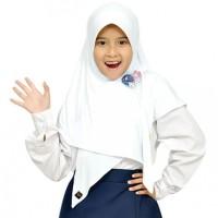 Jilbab Anak Abella M Putih Elthof