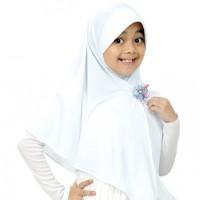 Jilbab Anak Abella S Putih Elthof