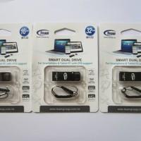 Jual Flashdisk OTG Team M132 16GB (USB 3.0[PC/Laptop] dan Micro USB[smartphone])