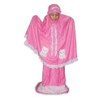 Mukena Anak G Nine GN 3404 Pink Simple