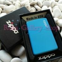 Zippo Blue Matte