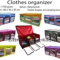 CLOTHES ORGANIZER / TEMPAT/BOX PAKAIAN/SPREI/BUKU/MAINAN ANAK EMO