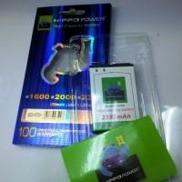 Battery Hippo Power Blackberry Bold / Onyx 9000 9700 9780 - 2350mAh