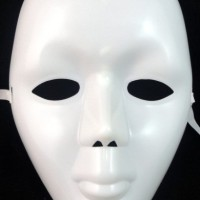 Topeng Sulap Polos Kabuki Jabbawockeez Alat Magic Aksesoris Pesta Cosplay Cozplay