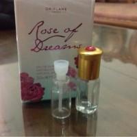 TESTER ROSE OF DREAM EDT BOTOL Botol kaca 2ML isi Parfume 1ML