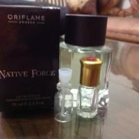 TESTER NATIVE FORCE EDT BOTOL Botol kaca 2ML isi Parfume 1ML