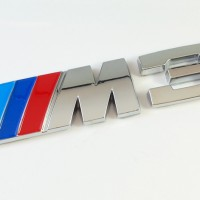 Emblem BMW ///M3 Sticker Bagasi 3D