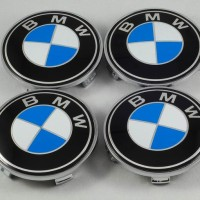 Emblem BMW Biru Putih Standard Velg Center 68mm 3D