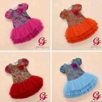 Dress batik tutu
