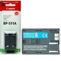 BATTERY CANON BP-511A untuk EOS D30/D60/1D/10D/300D/PowerShot G1/G2/G3/G5/PRO90IS/ZR-10/ZR-20/ZR-25mc/ZR-30mc/MV300/300i/30i/400