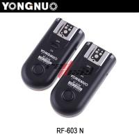 FLASH TRIGGER YONGNUO RF-603 FOR NIKON