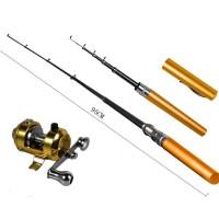 Color Fish Rod Pen pocket fishing