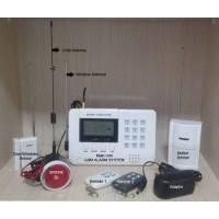 GSM Alarm Security Sistem,Pengamanan Rumah dan Toko