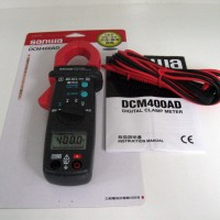 Clamp Meter - Sanwa - AC/DC Clamp Meter DCM 400AD (Suitable for automotive maintenance & DMM functions)
