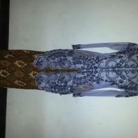 Kebaya Payet Abu-Abu / grey fit to M