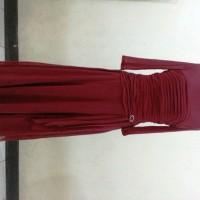 long dress merah
