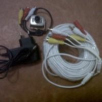 MINI KAMERA CCTV INFRARED PAKET LENGKAP BISA LANGSUNG KE TV(MURAH)