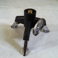 Gas Adaptor untuk kompor gas mini - Adaptor Nozzle Gas Bottle Screwgate Three-Leg Transfer Head
