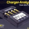 Maha Powerex MH-C9000 WizardOne Charger-Analyzer for 4 AA / AAA with LCD