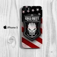 Call Of Duty Black OPS II iPhone 5 Custom Hard Case