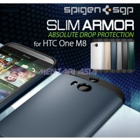 Hardcase HTC One M8 : SPIGEN Slim Armor Case