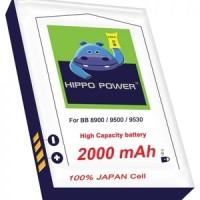 battery Hippo dx1 2000 mAh / baterai double power dx-1 / d-x1 bb javeline, storm, tour, essex