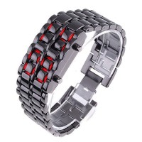LED Watch Iron Samurai Tokyoflash Replica (Red)