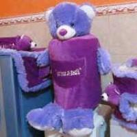 GMKT Karakter Beruang Warna Ungu