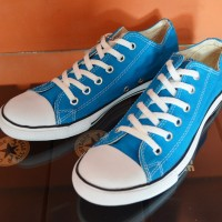Sepatu Converse ALL STAR Low Biru Laut Slim 29c67a6e88