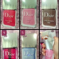 Iphone 5/5s Soft Case Dior Nail Polish Rubber