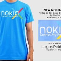 Jual Kaos Android T-Shirt New Nokia Logo  - LogayPektay Design - Baju Nokia Android Murah