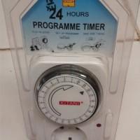 Timer (alat pengatur waktu) analog (manual) Kitani 24 jam