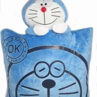 Bantal Sablon Doraemon