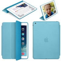 Photive iPad Air [Smart Case] Biru |Blue Lightweight Smart Cover Case