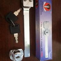 Kunci Etalase Cobra Aksesoris Aluminium Kaca Gembok Panjang