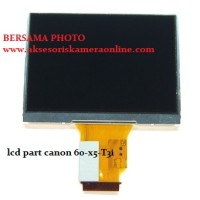 spare part lcd canon 60d- rebel X5- Kiss T3i