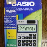 Calculator - Casio - SX-320P-W