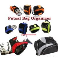 Jual Futsal Bag Organizer (FBO) Tas olahraga 3 in 1 (Ransel, selempang, jinjing) Murah