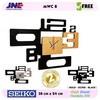 Jam dinding - MWC 8 GOLD - JNE 1KG - Garansi Seiko 2 Tahun!