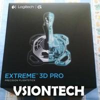 Logitech Extreme 3D Pro Joystick Flight Simulator for PC - Controller simulasi pesawat terbang