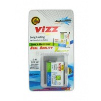 D-X1 2800mAh Battery/Baterai Blackberry (BB) Vizz Double Power DX1 2800mAh (Javelin 8900 / Storm 9500 / Odyn 9520 / Tour 9630)