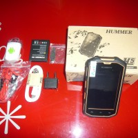 Hummer H5 4'' screen android 4.2 dual core 3G Waterproof Ip68 military phone