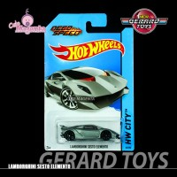 Lamborghini Sesto Elemento - HW City - Hot Wheels - MOC