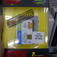 Baterai / Battery Double Power Vizz F-S1/FS1 2800mAh (Untuk Blackberry Torch 9800 / Jennings 9810)