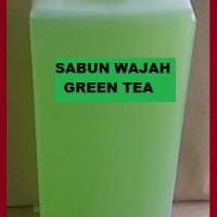 SABUN WAJAH GREEN TEA/HIJAU 1 LT (KENTAL)