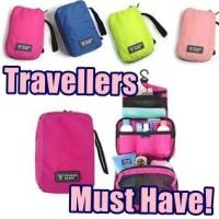 Travel Mate Toiletries Bag Organizer