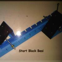 Alat Atletik Start Block / Starting Block Lari